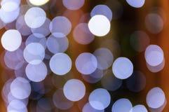 Bokeh light. Beautyfull defocused light at night Stock Image