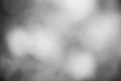 Bokeh Light on black and white Background Stock Photo