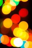 Bokeh of light bulb Royalty Free Stock Photo