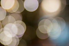 Bokeh light on christmas tree  background Royalty Free Stock Photos