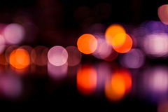 Bokeh light color Stock Photography