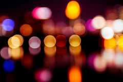 Bokeh light color Royalty Free Stock Photo