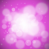 Bokeh light. Colorful pink background Stock Image