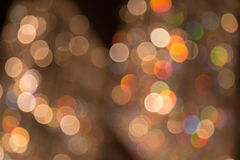 Bokeh of light Royalty Free Stock Photography