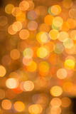 Bokeh of light decoration in shade white balance Royalty Free Stock Photo