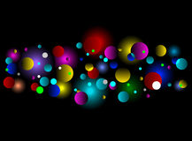 Bokeh light effect background Royalty Free Stock Images