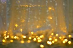 Bokeh light effect Colorfull Blur abstract background Stock Image