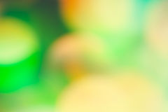 Bokeh Light - green nature Background.  Royalty Free Stock Photo