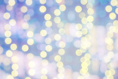 Bokeh light pastel color background. Stock Photo