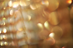 Bokeh light reflection Royalty Free Stock Images