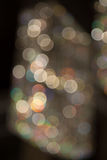 Bokeh of light in tungsten white balance Stock Photography