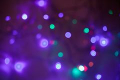 Bokeh light vintage background Royalty Free Stock Images