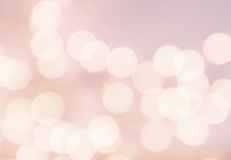 Bokeh light Vintage background. Bright pink color. Abstract natural blur defocussed background with sparkles and magic lights. stock images
