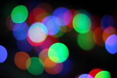 Bokeh lighteffects as background Stock Photos