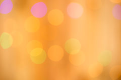 Bokeh of lighting Royalty Free Stock Image