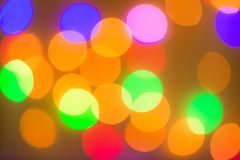 Bokeh of lighting Royalty Free Stock Photo