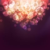 Bokeh lights. Abstract background with defocused bokeh circles, eps10 illustration with clipping mask Stock Illustration