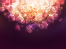 Bokeh lights. Abstract background with defocused bokeh circles, eps10 illustration with clipping mask Vector Illustration