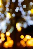 Bokeh lights Royalty Free Stock Photo