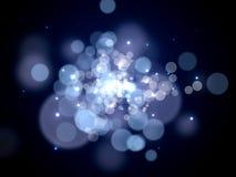 Bokeh lights background stock illustration