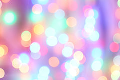Bokeh lights background, close up Royalty Free Stock Image