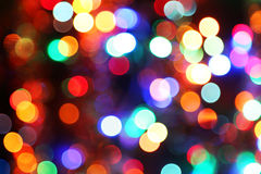 Bokeh lights background, close up Royalty Free Stock Photos