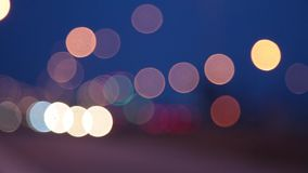 Bokeh lights background stock footage