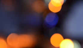 Bokeh lights background Royalty Free Stock Image