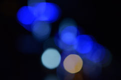 Bokeh lights background Royalty Free Stock Photo