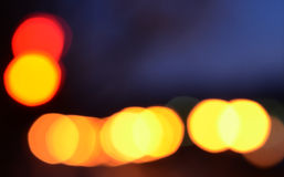 Bokeh lights background Royalty Free Stock Photography
