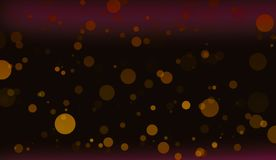 Bokeh lights background. Vibrant glittering design. stock photography