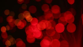 Bokeh of lights stock footage