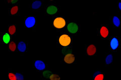 Bokeh lights. Beautiful Christmas background.  and New Year.  light  Festive abstract  with Royalty Free Stock Photos