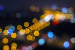 Bokeh lights. Royalty Free Stock Photo