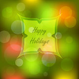 Bokeh lights Christmas background Royalty Free Stock Photo