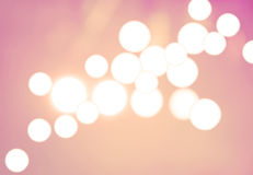 Bokeh lights Royalty Free Stock Photo