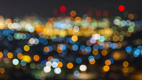 Bokeh lights. Bokeh defocused background stock photos