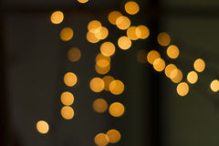 Bokeh lights Stock Image