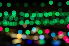 Bokeh lights hd wallpaper Royalty Free Stock Image