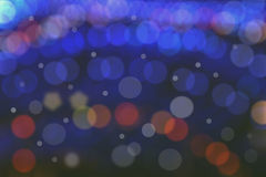 Bokeh lights with multi layers Royalty Free Stock Photography