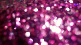 Dark Magenta Bokeh Lights in many various, bright, and pretty co royalty free stock images