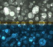 Bokeh  lights  pattern. Colorfull pattern   bokeh   layers  pattern background effect Stock Photo