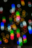 Bokeh from lights at Red Cross fair Royalty Free Stock Photos