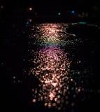 Bokeh lights reflecting Stock Photos