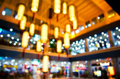 Bokeh lights and stars Royalty Free Stock Images