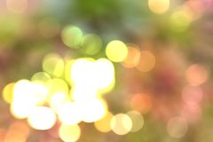 Bokeh lights to celebrate the festival. Boogie light with celebration in the Festival of Happiness Stock Photography