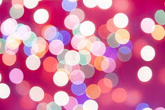 Bokeh lights, vintage background Stock Images