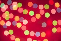 Bokeh lights, vintage background Stock Images