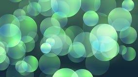 Circularity // 4k Stylish Bokeh-like Circles Video Background Loop @60fps stock video