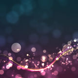 Bokeh With Line Royalty Free Stock Image